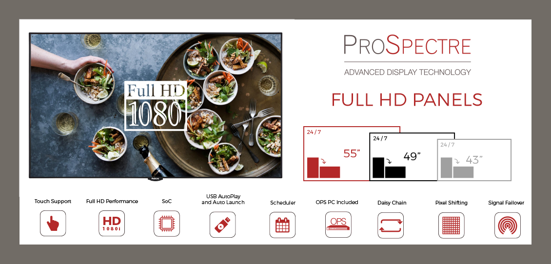 prospectre professional display hd