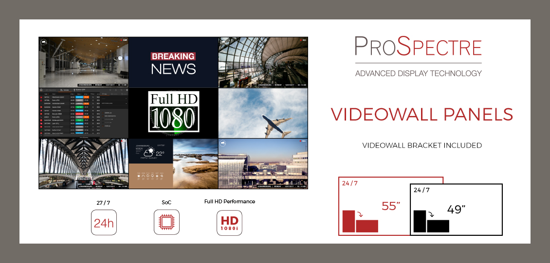 prospectre professional display video wall