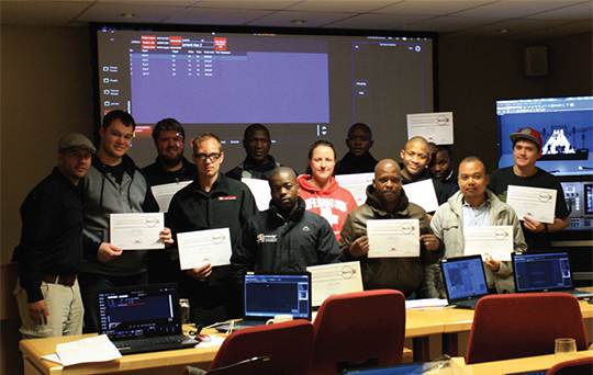Delegates-at-the-Electrosonic-SA-training