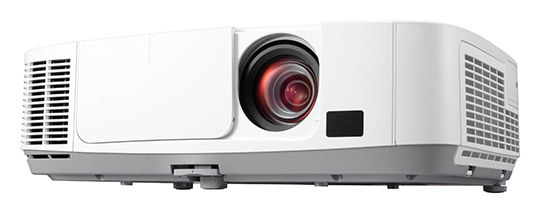 PORTABLE PROJECTORS FILL BIG SHOES