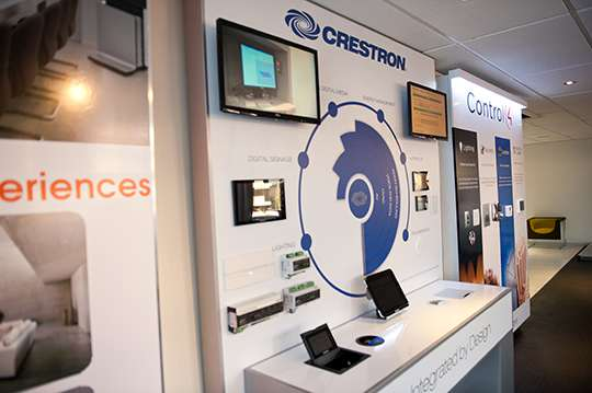 PANAVISION EVOLVE UNVEILS CRESTRON DEMO WALL