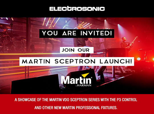 MARTIN SCEPTRON LAUNCH