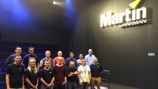 TRAINING IN AARHUS AT MARTIN HQ