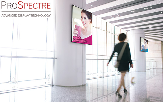 ProSpectre, The New Name in Professional Displays