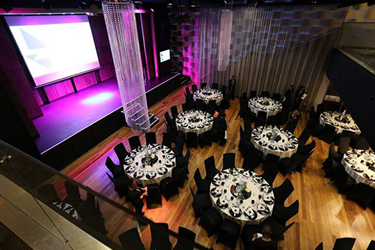 THE VENUE GETS A REVAMP