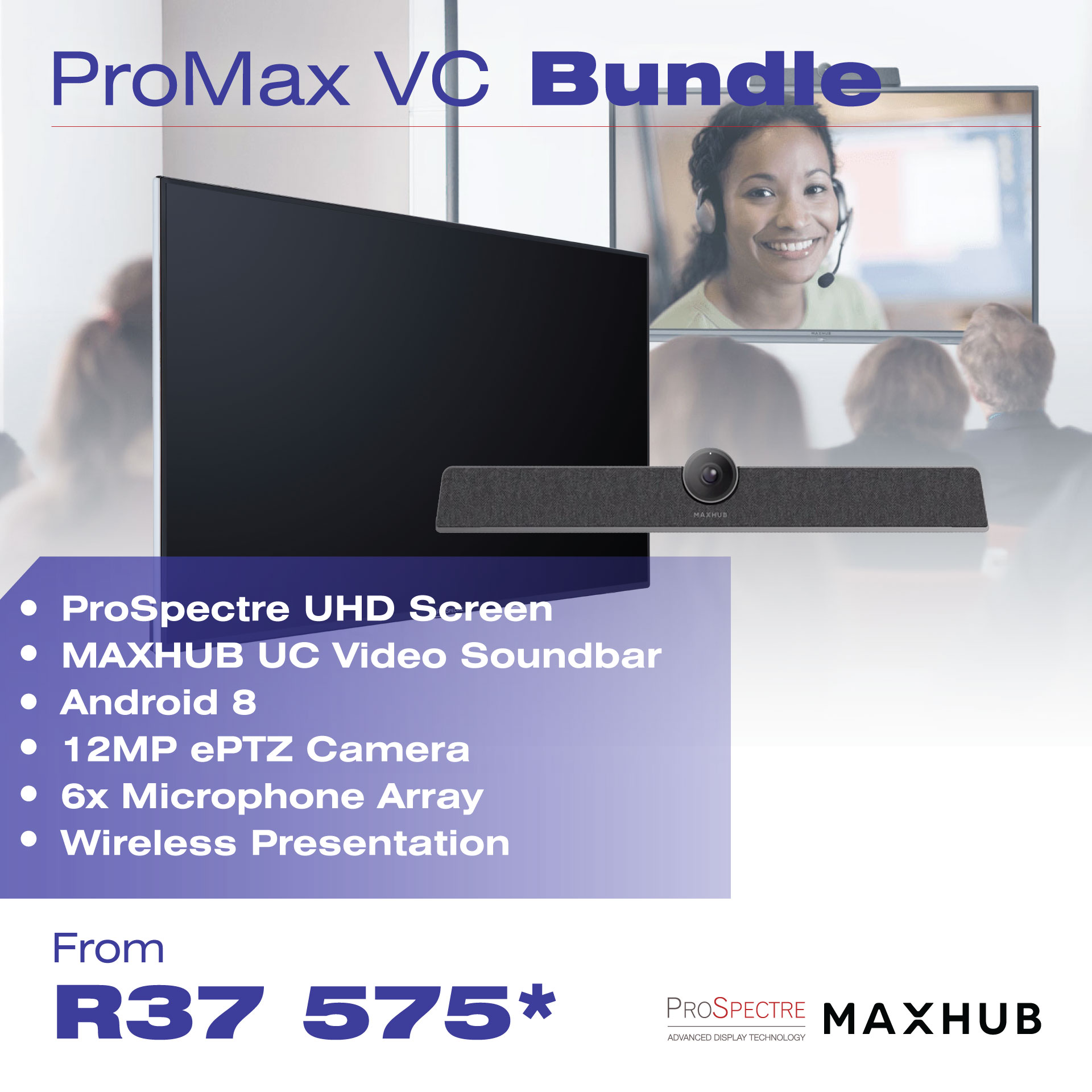 Video Conferencing Bundles Web Page ProMax