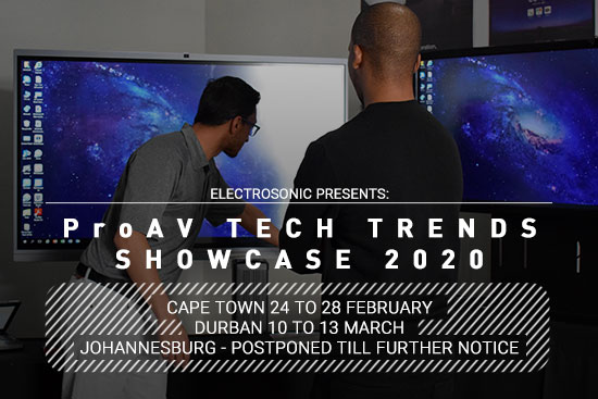 ProAV Tech Trends Showcase 2020; Hot On the Heels of ISE 2020