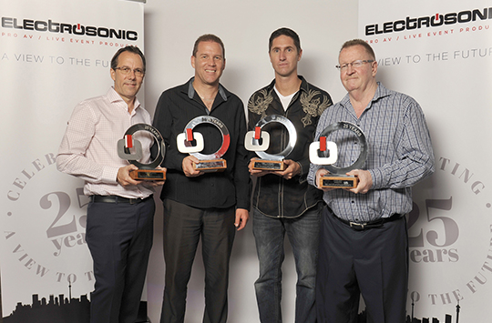 ELECTROSONIC'S VIEW TO THE FUTURE, CELEBRATING 25 YEARS!