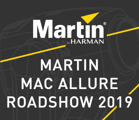 The Martin MAC Allure Roadshow will rock up in YOUR area!