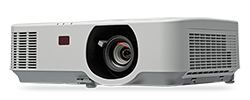 NEC P554U: 5500-lumen Entry-Level Professional Installation Projector