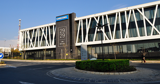 SAMSUNG CORPORATE AV INTEGRATION – A SEAMLESS BLEND OF STYLE AND FUNCTIONALITY