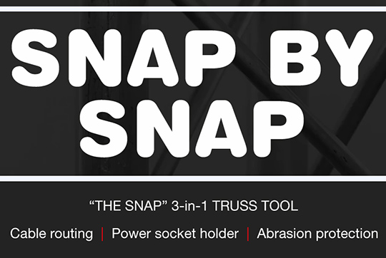 THE SNAP. Your 3-in-1 Truss Tool